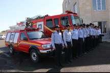 بیست و یکمین ایستگاه آتش نشانی تبریز بهره برداری شد