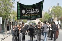 استان مرکزی درسالروز شهادت حضرت زهرا(س) غرق در عزا شد