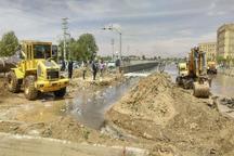 طغیان آب در کانال فردیس خسارت برجای گذاشت