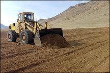 211 هزار متر مربع از زمین های ملی در اردستان آزاد سازی شد