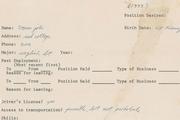 اولین درخواست استخدامی استیو جابز به حراج گذاشته می شود!+ عکس