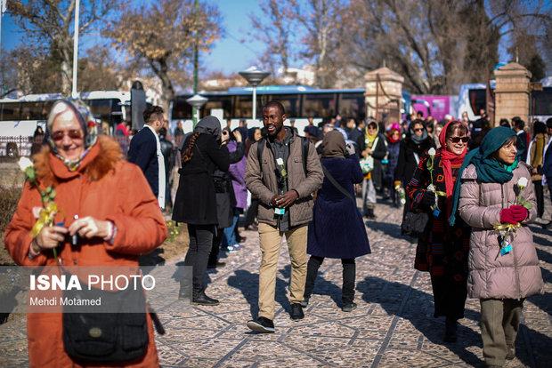 ورود 520 هزار گردشگر خارجی به آذربایجان شرقی در سال گذشته