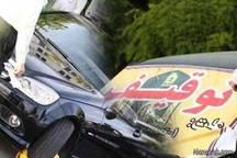 خودروی سوزوکی با خلافی 52 میلیون ریال در دره شهر توقیف شد