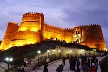 75 هزار مسافر نوروزی از قلعه فلک الافلاک خرم آباد دیدن کردند