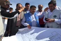 استاندارالبرز از سیل بندهای خوزستان بازدید کرد