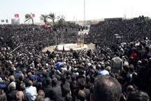 روستای فدیشه نیشابور میزبان ۷۰ هزار عزادار حسینی شد