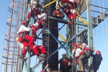 دوره آموزش نجات در عمق و ارتفاع هشت استان در گیلان آغاز شد