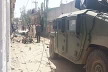 انفجار در مرکز نام نویسی انتخابات در افغانستان+ تصاویر