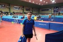 نونهال مهابادی به تیم ملی تنیس روی میز دعوت شد