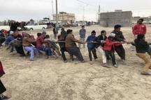 برگزاری رقابت های بازی های بومی و محلی در شهر علی اکبر هامون