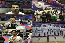کسب پنج مدال توسط کاراته کاران آذربایجان شرقی