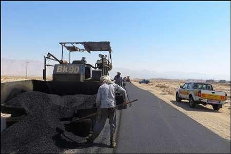 450 کیلومتر راه آسفالته در جنوب کرمان در حال ساخت است