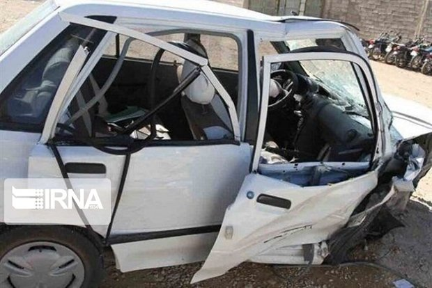 تصادف زنجیرهای در کرمان ۹ مصدوم برجای گذاشت