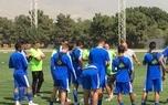 شفر همپای بازیکنان استقلال تمرین کرد