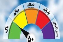 شمار روزهای هوای ناسالم در مشهد کاهش یافت
