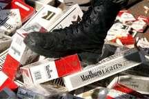 کشف و ضبط سیگار قاچاق در آستارا