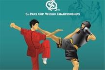 """ووشوکار اندونزیایی مدال طلای """"جین شو"""" را در مسابقات جام پارس به گردن آویخت"""