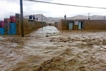 ۲ روستا در معرض خطر آبگرفتگی قرار گرفته اند  هزاریان: مسئولین استانی کمک کنند