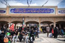 خادمان رضوی به زائران اربعین در ۶ مرز ایران خدمترسانی میکنند