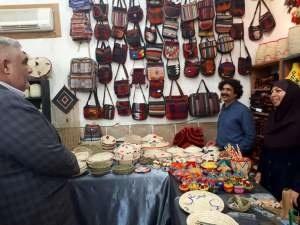 عرضه صنایع دستی با تخفیف ویژه در نمایشگاه شوش