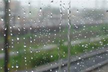 آسمان گیلان در روز عاشورا، ابری و بارانی است