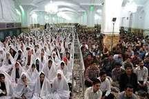 جشن ازدواج 700 زوج دانشجو در حرم مطهر رضوی برگزار شد