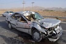 تصادف در جاده شوشتر-دزفول چهار مصدوم برجا گذاشت