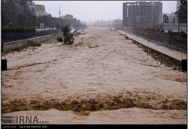 طرح جامع مدیریت سیلاب شیراز در دست تهیه است