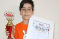 نونهال اراکی رتبه نخست مسابقات ریاضی جهان را کسب کرد