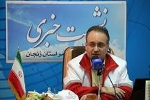 راهاندازی اولین مرکز توانبخشی هلال احمر شمالغرب کشور در زنجان  برگزاری جشن 90 سالگی جمعیت هلال احمر در استان