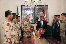 امضا تفاهمنامه همکاری مرزی بین مسوولان ایران و ترکیه