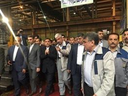 بازدید وزیر راه و شهرسازی از پروژه های استان مرکزی