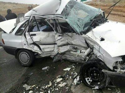 3 کشته و زخمی در تصادف محور زنجان-میانه