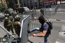 شیلی همچنان ناآرام+ تصاویر