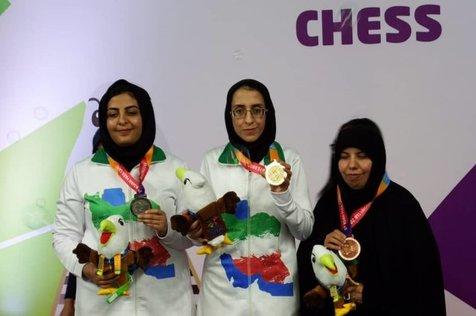 کسب یک طلا سه نقره و یک برنز در مسابقات سریع شطرنج نابینایان
