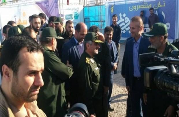 فرمانده سپاه: حجم آبگرفتگی در گلستان وسیع است