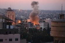 مقاومت فلسطین یک نفربر اسرائیلی را هدف قرار داد/افزایش شهدای فلسطینی به 12 تن