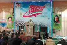 راهپیمایی حماسه 9 دی به طرز باشکوه در بجنورد برگزار شد
