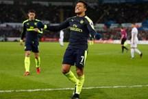 طلسم شکنی آرسنال با پیروزی خارج از خانه در هفته سی وسوم لیگ برتر انگلیس