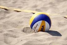 19 بازی در اولین روز المپیاد ورزشی والیبال ساحلی برگزار شد