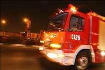 آتش سوزی پارک پردیسان تهران مهار شد