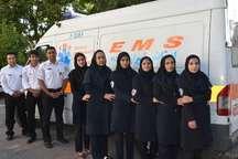 دومین آمبولانس به اورژانس نوپای بانوان شیراز داده شد