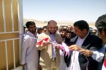 افتتاح 12 پروژه کشاورزی در بخش کورین شهرستان زاهدان