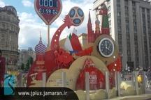 تصاویری از شهر مسکو یک روز قبل از آغاز جام جهانی