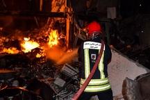آتش سوزی جان مرد اهوازی را گرفت