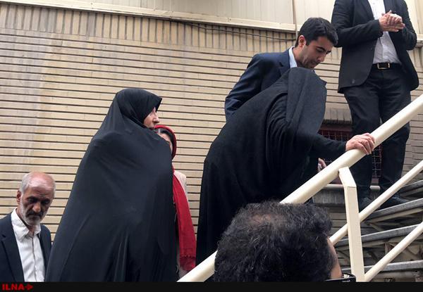 حضور عفت مرعشی در همایش ستاد جوانان روحانی+عکس