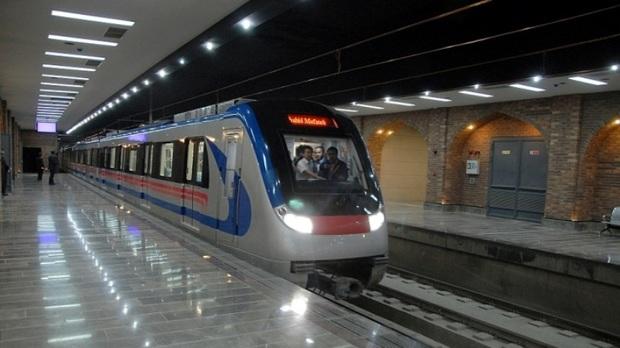 تست گرم فاز دوم خط 7 مترو تهران انجام شد