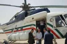 وزیر نیرو برای بررسی مشکلات آب و برق سیستان و بلوچستان وارد کنارک شد