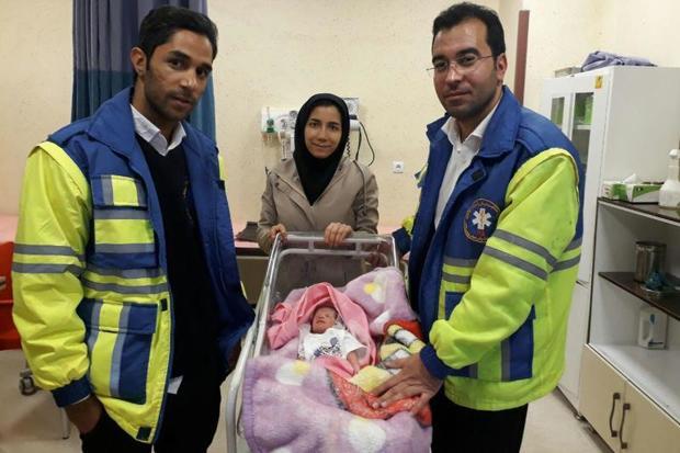 15 دقیقه تلاش برای تولد دوباره یک نوزاد در میامی