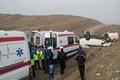 ۲۰ مجروح در برخورد اتوبوس با مینیبوس در آزاد راه تهران - قم